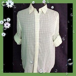 Lauren Ralph Lauren / Large / Vintage Green Shirt